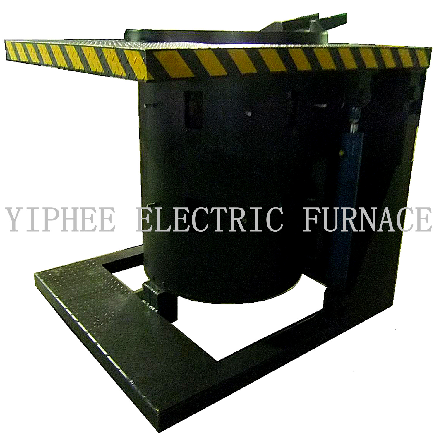 IF induction furnace hydraulic with steel shell