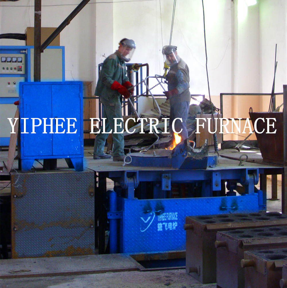 Russia client induction electric furnace work site